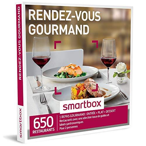 SMARTBOX - Coffret Cadeau - RENDEZ-VOUS GOURMAND - 440 restaurants avec une sélection issue de guides et labels gastronomiques