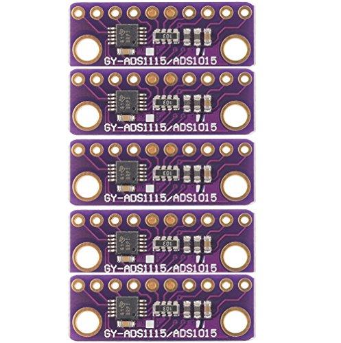 daorier GY ads1015ads1115ADC Super Mini module 16octets precised Analogique Numérique Converter Develop Board, Lot de 5