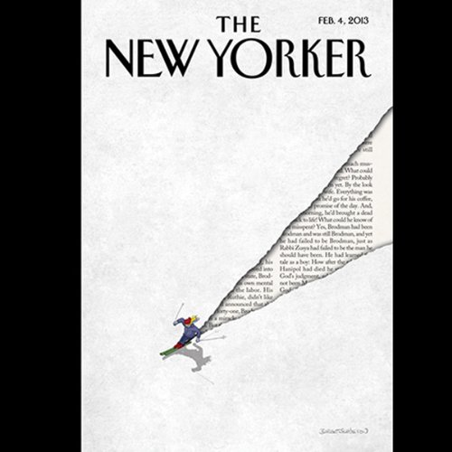 The New Yorker, February 4th 2013 (Michael Specter, Adam Higginbotham, James Surowiecki) cover art