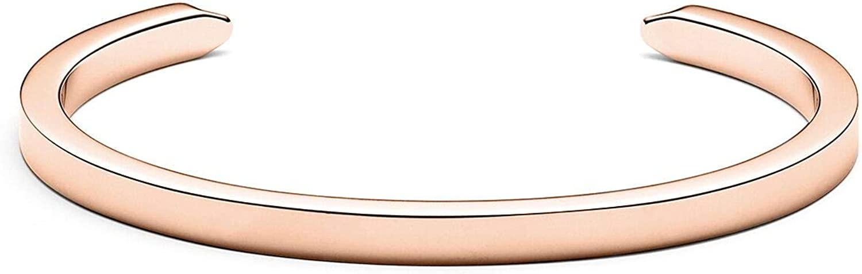 MVMT Women's Minimalist Cuff Bracelet   Open Closure, Stainless