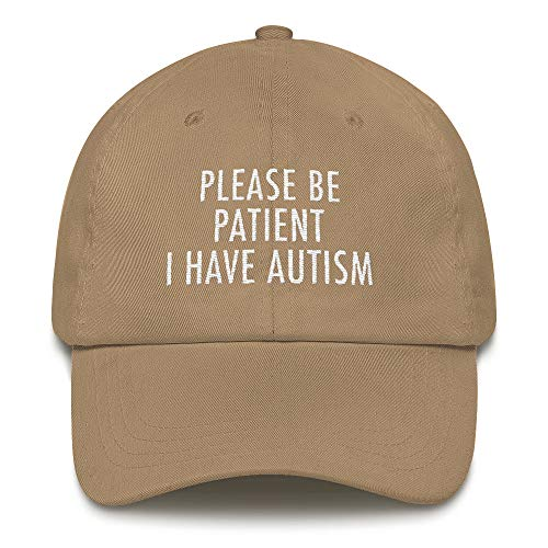CadburyChihuahua Please Be Patient I Have Autism Embroidered Hat Cap