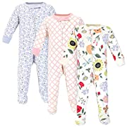 Touched by Nature Baby Organic Cotton Sleep and Play, Flutter Garden, 6-9 Months