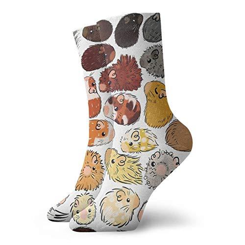 Rajfoo - Calcetines personalizados para deporte atlético, 30 cm, para hombres y mujeres
