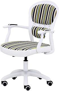 MJ-Office Chair Silla giratoria de elevación Silla de Escritorio de Oficina Silla de Estudio de computadora con pasamanos Inicio/Oficina/Silla de Escritorio de Sala de Estudio