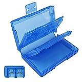 Portable pp boîte de rangement 24-Slot Hard Shell étui de transport avec 2-slot TF Cards Holder organisateur pour Nintendo...