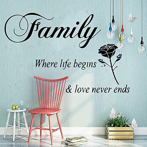 Tianpengyuanshuai Vie verliefde familie vinyl rol meubels slaapkamer decoratie PVC badkamer decoratie