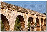 Nicoole Spagna Acquedotto romano Tarragona Puzzle per adulti Bambini 1000 pezzi Gioco di puzzle in legno per regali Decorazione domestica Souvenir di viaggio speciali