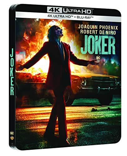 Joker [4K Ultra HD + Blu-Ray-Édition boîtier SteelBook]