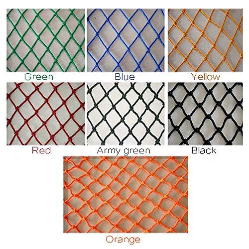 Hwt Tarnnetz Netz Zur Dekoration Gitter Für Kletterpflanzen Gartenmaschennetze Nylonnetz Schwere 6mm/5cm (grün/blau/gelb/rot/Armee-grün/schwarz/orange) (Color : Black, Size : 1x5m)