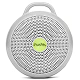 Marpac Hushh Portable White Noise Machine for Baby | 3 Soothing, Natural Sounds with Volume Control Baby-Safe Clip & Child Lock, Gray, 3.7 ounces