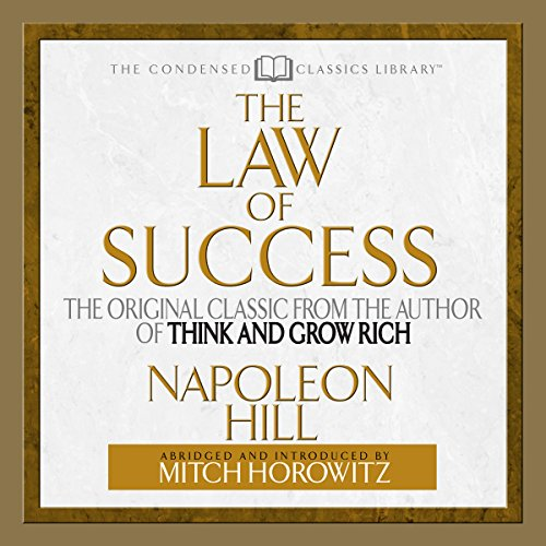 The Law of Success audiobook cover art