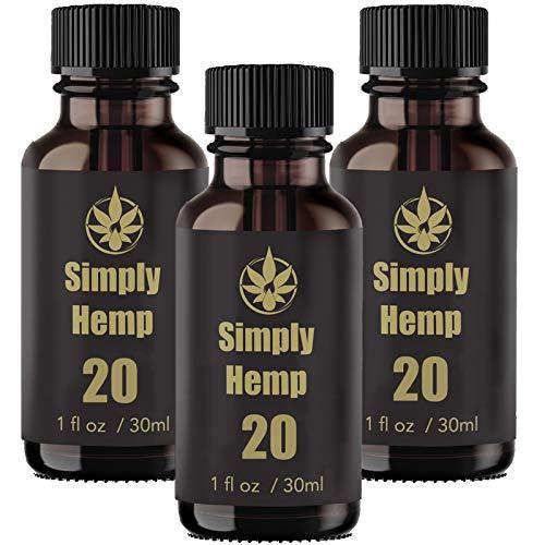 Gocce di olio di cannabis sativa - 20,000 mg (30 ml)