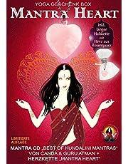 "Mantra Heart Yoga Geschenk Box: Mantra CD ""Best of Kundalini Mantras"" + Halskette ""Mantra Heart"""