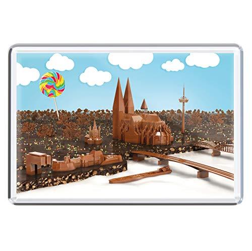 stadtecken magneten 10x7cm +++ KÖLN motieven: chocolade I koelkastmagneten I Leven & Momenten grappig I Whiteboard I Souvenir I Gift I Cadeau-idee