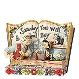 Disney Traditions, Figura de forma de libro de Pinocho 'Algún día serás un...