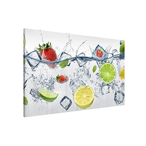 Bilderwelten Magnettafel - Frucht Cocktail - Memoboard Querformat 2:3, Wandbild Magnettafel Pinnwand Magnetboard Magnetpinnwand Magnetwand Stahl Küche Büro, Größe HxB: 60cm x 90cm