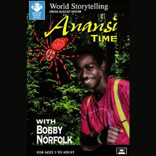Anansi Time audiobook cover art