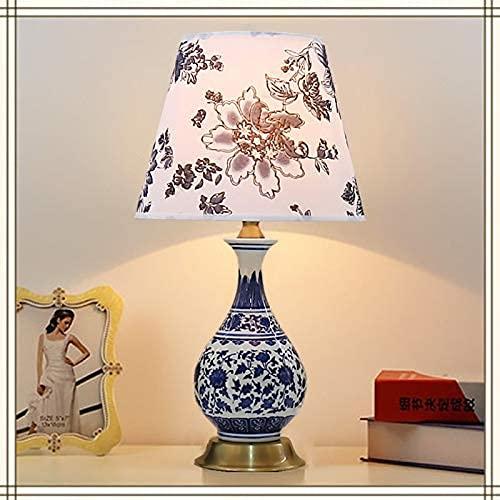 Oven Porseleinen Tafellamp Elegante Boeddha Vaas Bureaulamp Klassieke Traditie Thuis Slaapkamer Meubels Staande…