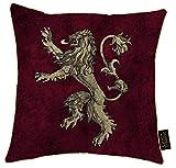 Juego de Tronos - Cojin de la casa Lannister de 40 x 40 cm