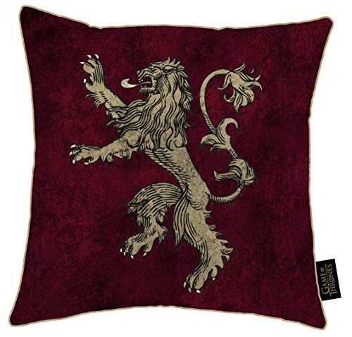 Game of Thrones Kissen, Polyester, Mehrfarbig, 40 x 40 cm