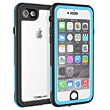CellEver iPhone 6 / 6s Waterproof Case Shockproof IP68 Certified SandProof Snowproof Full Body Protective...