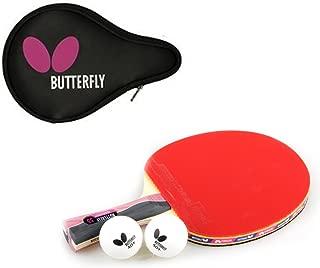 Butterfly NAKAMA S-5 Table Tennis Racket Paddle (Shake) + Logo Full case
