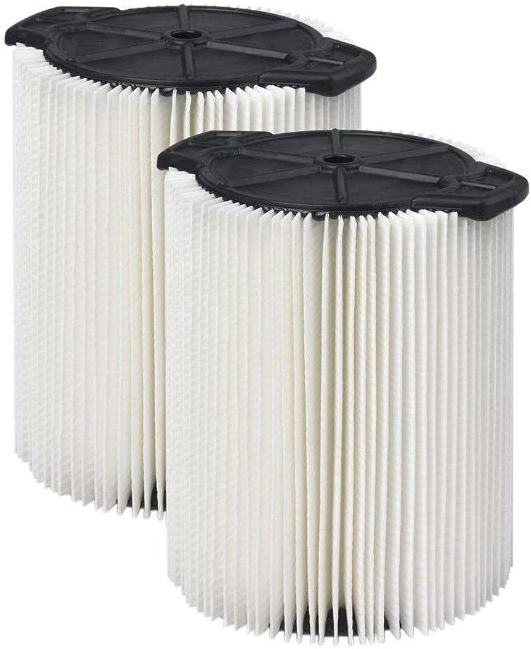 2 Pcs of Filter Pack Compatible Wet With Gallon Year-end annual account D Bombing new work RIDGID 5-16