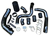 Intercooler Pipe Boot Kit CAC Tube & Cold Air Intake + Elbow for 2003-2007 F250 F350 F450 F550 6.0L Powerstroke Diesel V8 6.0