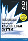 Law Express Question and Answer: English Legal System(Q&A revision guide) (Law Express Questions & Answers)