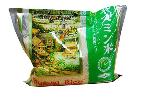 タイ国産 無洗米 ジャスミン米 プレミアム タイ米長粒種 1kg MFD2019.03.18