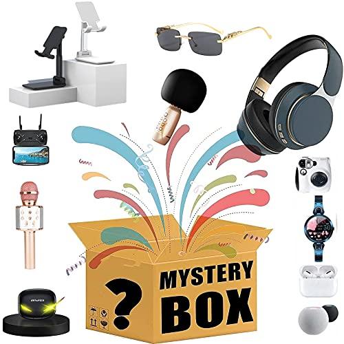 Sorpresa Blind Box Sensorial Fidget Toys Pack, Heartbeat Game Reloj Inteligente Teléfono Móvil Soporte para Tableta Auriculares Bluetooth Cámara Gamepad Regalo De Cumpleaños Al Azar (1Pcs)