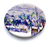 Mirror Compact White Pocket Mirror Small for Travel Paul Cezanne Art Print Unique Gift for Women