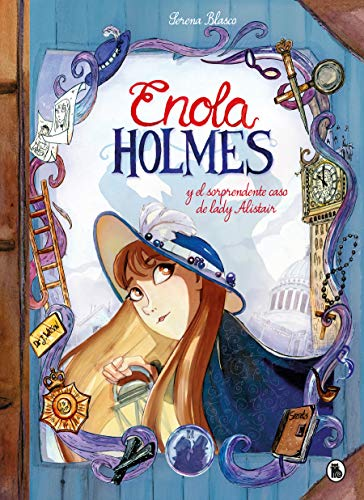 Enola Holmes y el sorprendente caso de Lady Alistair / Enola Holmes: The Case of the Left - Handed Lady (Enola Holmes.La novela gráfica) (Spanish Edition)