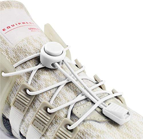 Inmaker Lacets Élastique, Lacets Chaussures Autobloquants Sans Laçage 120CM Pour Unisexe Enfants Adultes