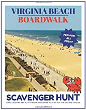 Virginia Beach Boardwalk Scavenger Hunt Game: Coloring and Activity Book and Summer Vacation Fun for Kids and Families!