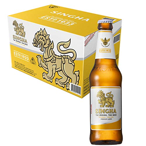 シンハービール 瓶 [ ラガータイプ タイ 330ml×24本 ] [ ラガービール