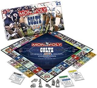 Super Bowl XLI Colts Monopoly