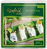Ricefield Papel De Arroz Cuadrado 16 Cm 300 g