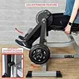 Valor Fitness CC-4 Leg Extension Leg Curl Machine Weight Machines Home Gym Workout Quad Extension Hamstring Curl Exercise