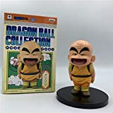 CXNY Dragon Ball Z Kid Krillin Childhood PVC Figura de acción Goku Krillin Master Roshi Kid Bowing V...