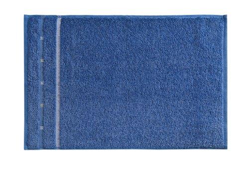 Vossen Quadrati Uni Gästetuch 3er Set Größe: 30 x 50 cm Farbe: 050 / Aqua/weiß