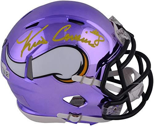 Kirk Cousins Minnesota Vikings Autographed Riddell Chrome Alternate Speed Mini Helmet - Fanatics Authentic Certified