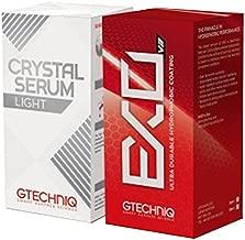 Gtechniq EXOv3 & Crystal Serum Light Ceramic Composite Coating Paint Protection 30ml Bundle