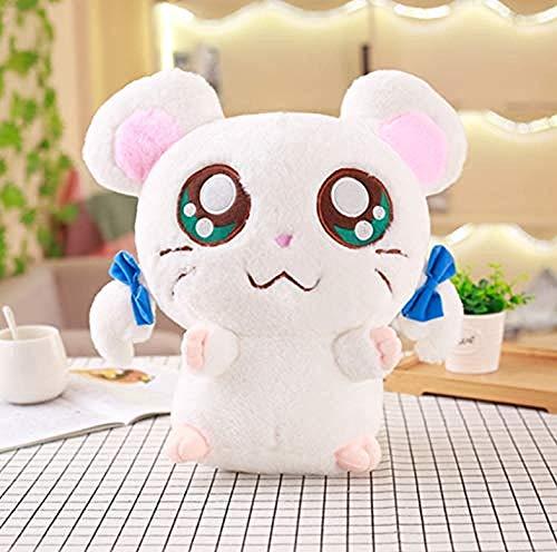 QIXIDAN Nette Hamster Maus Plüschtier Gefüllte Weiche Tier Hamtaro Puppe Kawaii Geburtstagsgeschenk Für Kinder Schöne Kinder Baby Spielzeug 1 Stück 30 cm