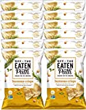 NEW Off The Eaten Path Rosemary and Olive Oil Hummus Crisps Made With Real Rice & Chickpeas- 5.25oz (12)