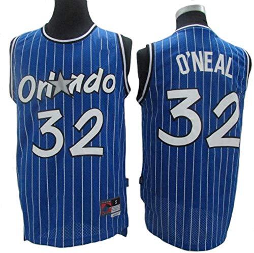 HS-XP Jerseys De Baloncesto para Hombres - NBA Retro Orlando Magic # 32 Shaquille O