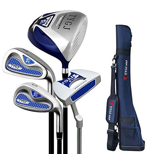 Wujiancheng-apparel Golf Spaner Semi-Set Pole Exerciser für Herren Golf-Einsteiger-Set Golf Putter Komplettes Übungs-Golfclub-Set Für Männer (Farbe : One Color, Größe : S2)