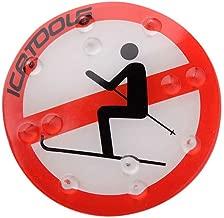 Icetools - Almohadilla antideslizante para tabla de snowboard, diseño de corona