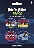 Angry Birds Space Badge Pack 4x35mm