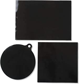 Tapis de table de cuisson à induction - 3 pièces de protection magnétique pour table de cuisson en silicone en fibre de ve...